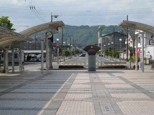 井原駅の景色