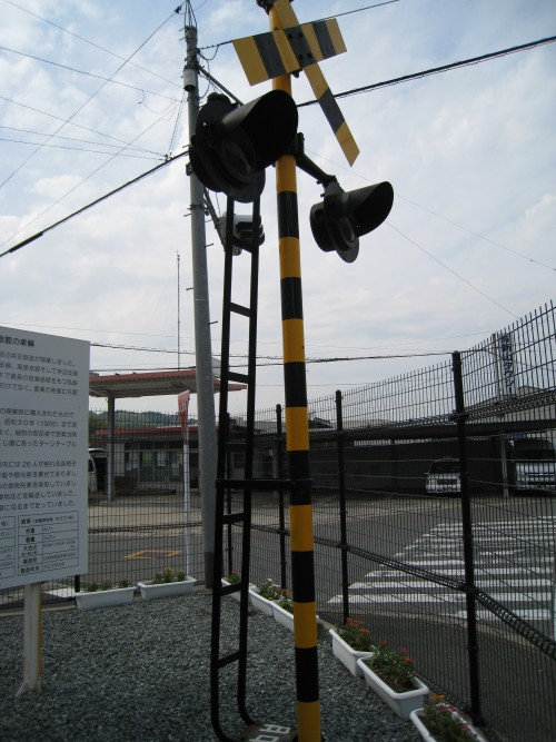 井笠鉄道記念館の汽車