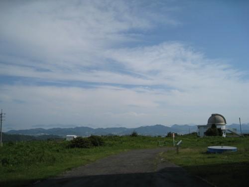 遥照山天文台の風景