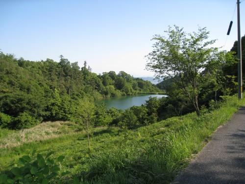 藤波池畔キャンプ場の周りの風景1