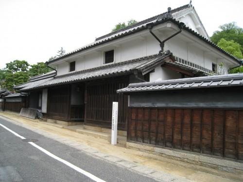 岡山県指定重要文化財 旧高戸家住宅
