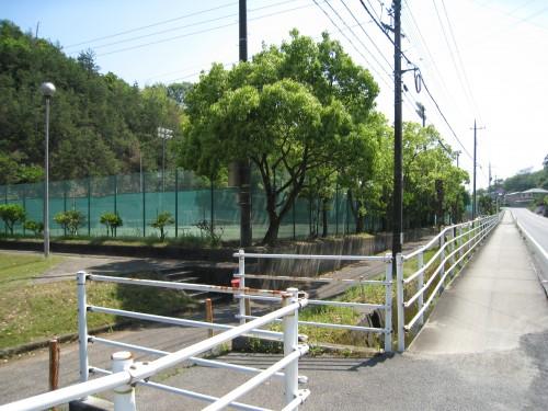 井原運動公園の外観