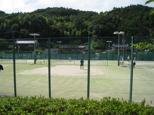 井原運動公園テニスコート