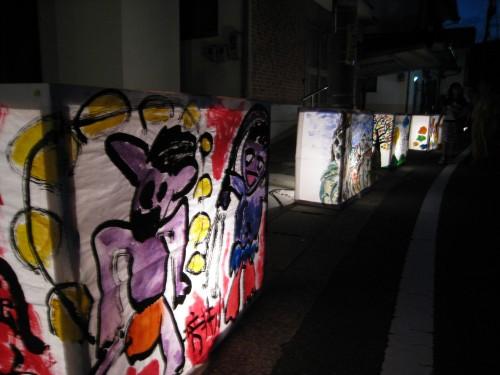 芳井町の宵あかり