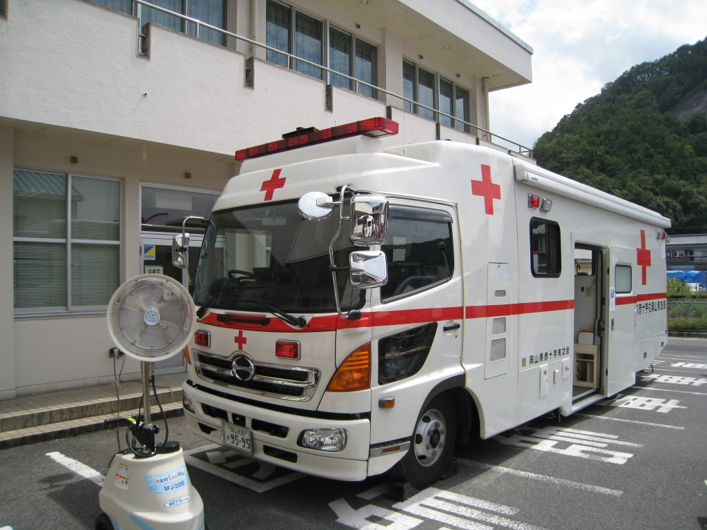 日本に1台しかない救急車を見た...