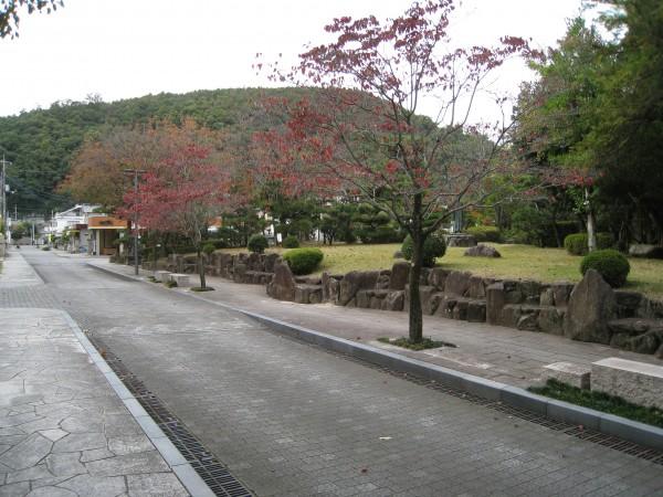 田中苑の通り