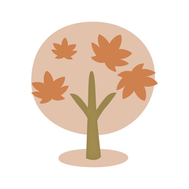 紅葉もみじの木