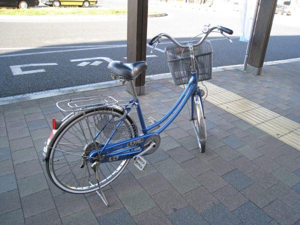 自転車ママチャリ