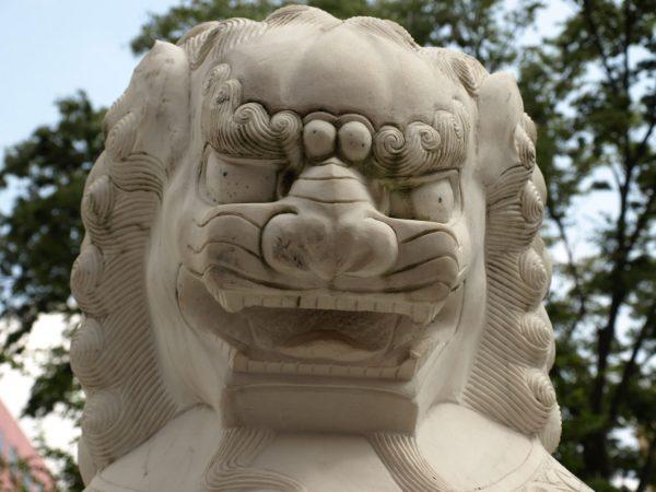 中華街の銅像