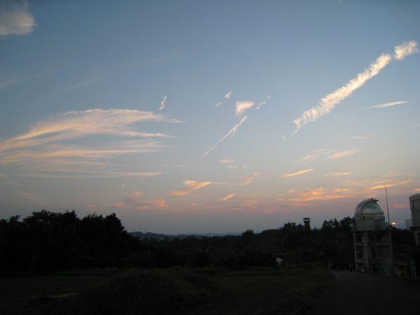 夕暮れの景色