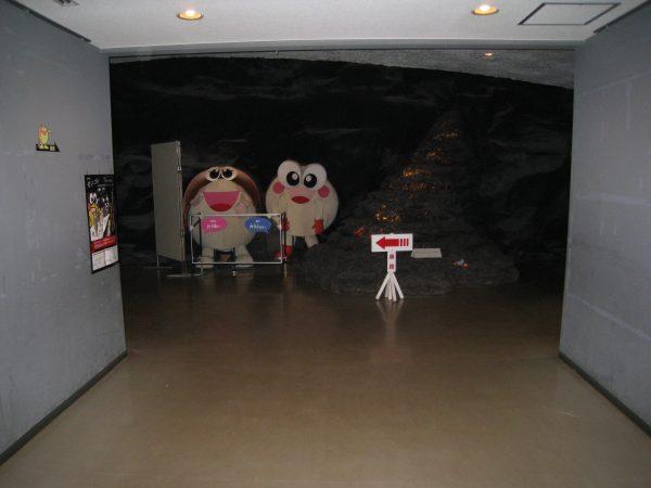 カブトガニ博物館内部