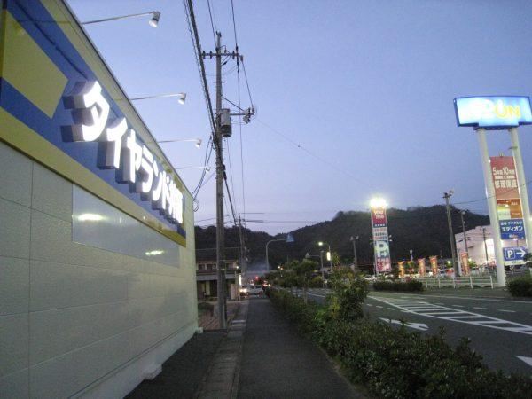イズミ井原店付近