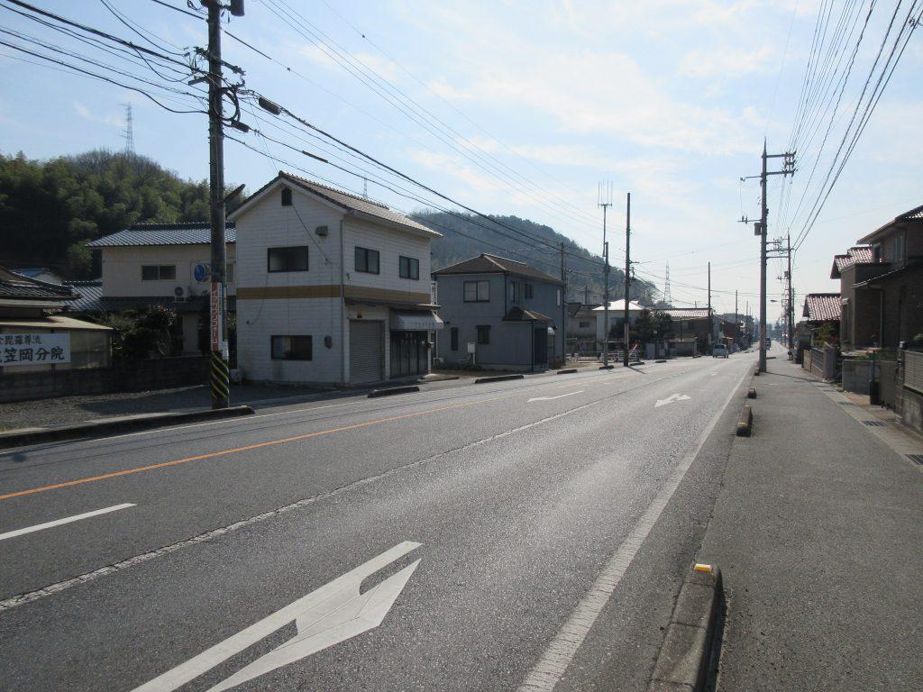 田頭のバス停
