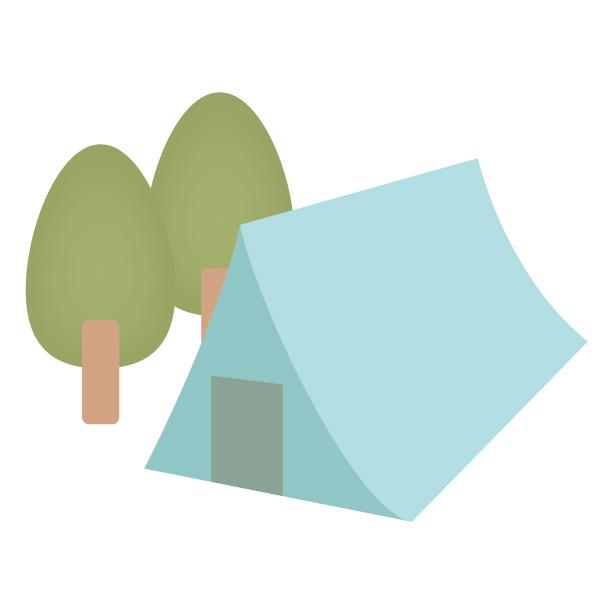 遥照山キャンプ