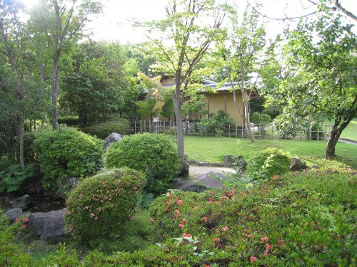 田中苑の園内