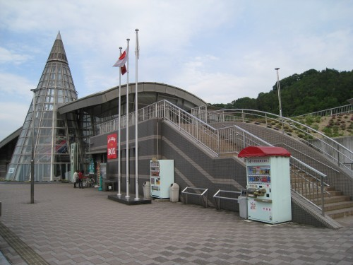 井原駅の周りの風景