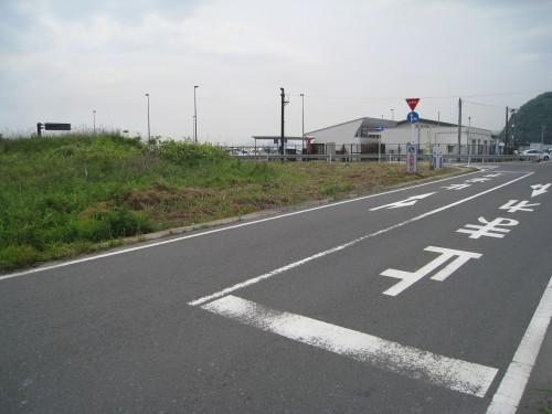 笠岡の干拓風景