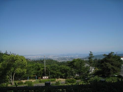 遥照山の周りの風景