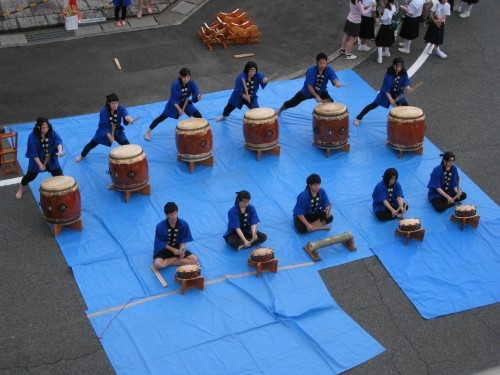 子守唄の里 2015 ふれあい祭り