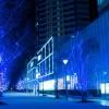 クリスマス間近だから!?ピカピカ光るイルミネーションが綺麗だな~井原駅周辺