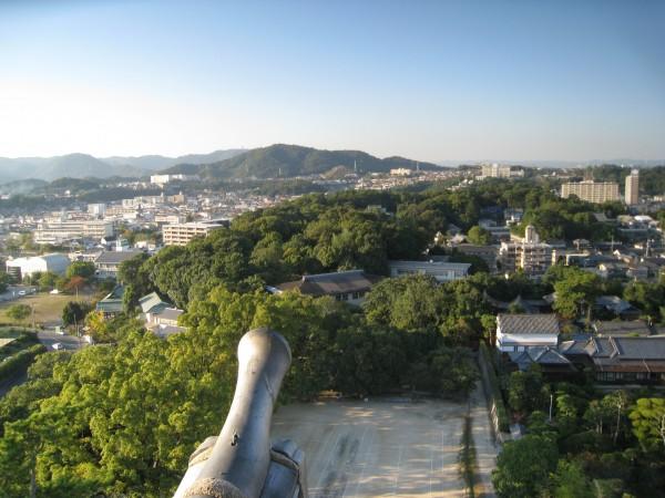 福山城からの風景