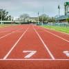 明日はいよいよ全国健康マラソン井原大会が始まります。元陸上競技選手が来るらしい!?