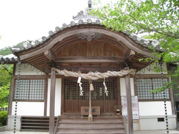お宮の本殿