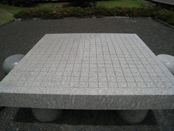 囲碁の石板