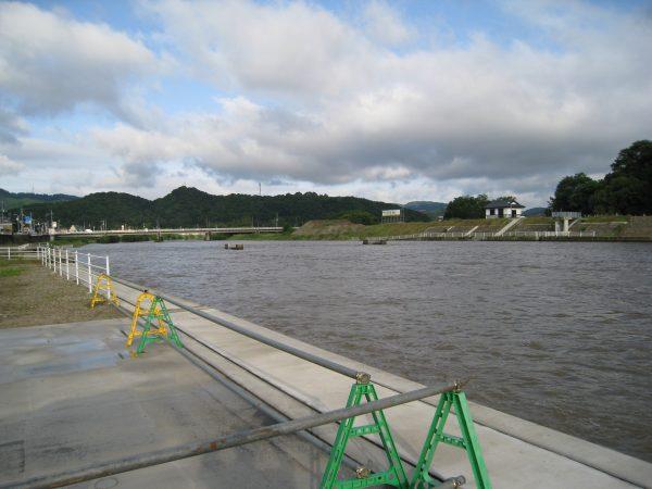 矢掛町の川の様子