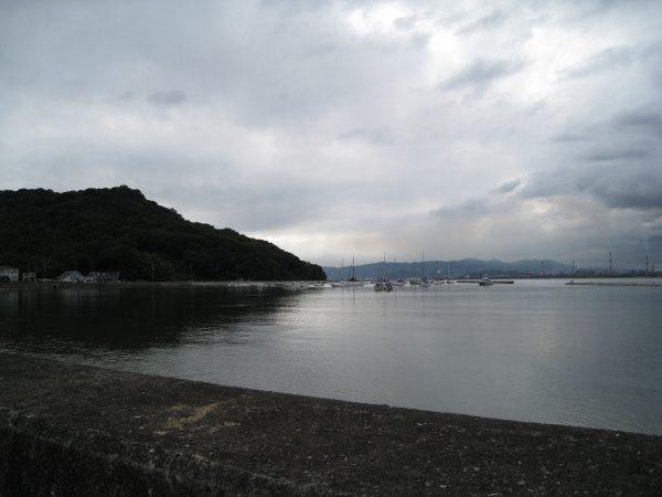 笠岡市の海