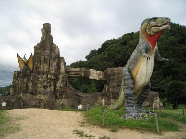 恐竜の実物大