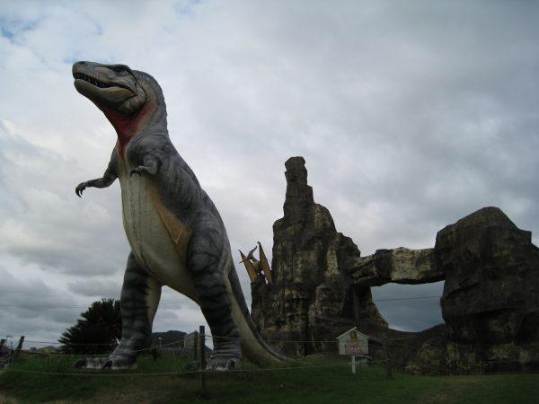 恐竜時代を再現