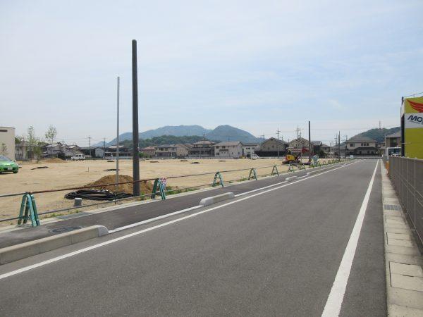美の浜グラウンド跡地開発工事