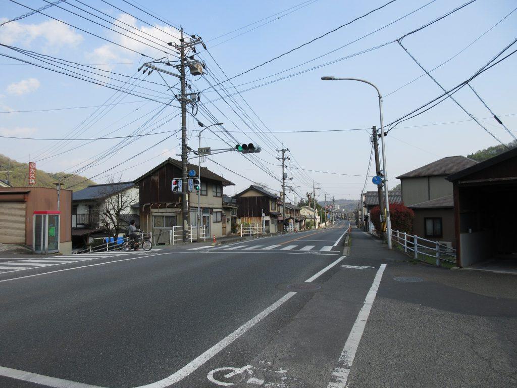 昭和橋付近