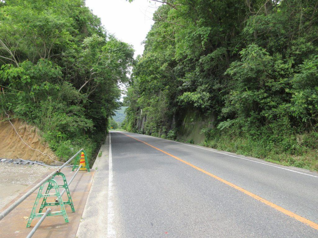 山王の山道