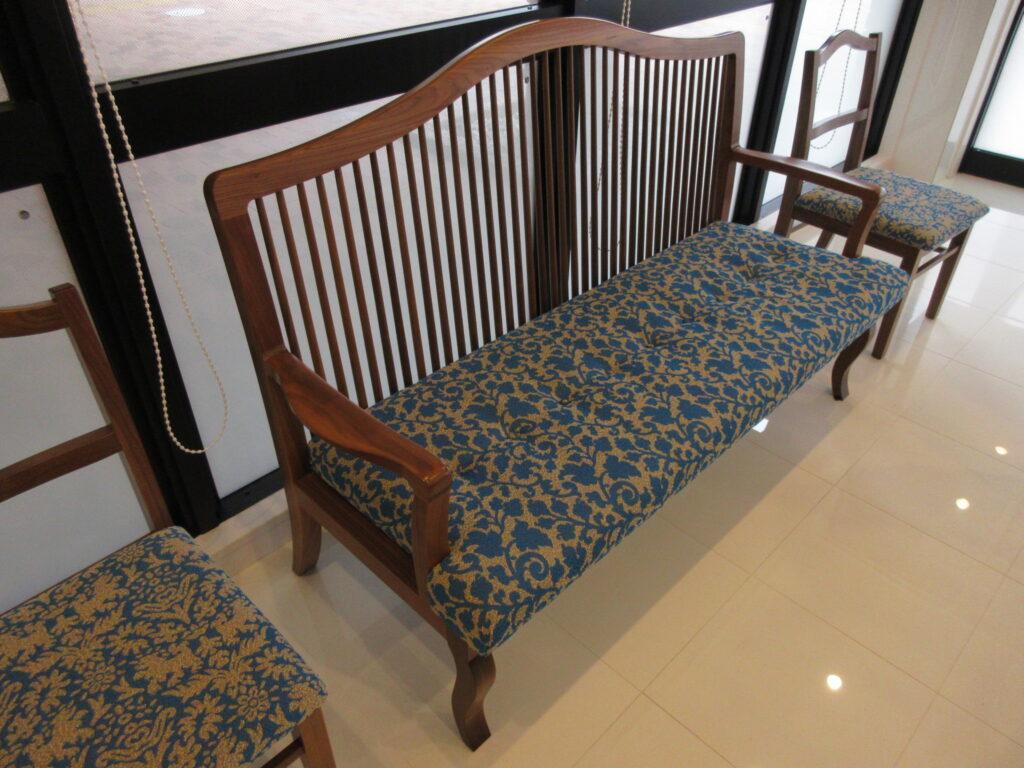 豪華な椅子の数々
